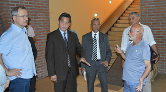 Visit by the Indonesian Ambassador